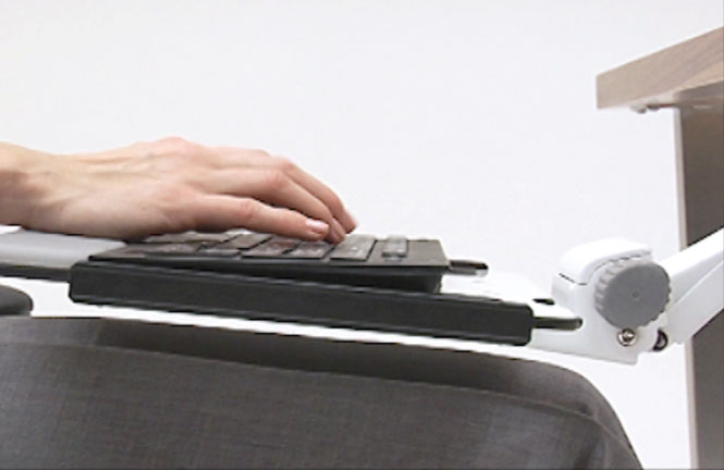 Keyboard Tray And Mouse Platform | Ergonomic Keyboard Support From  Humanscale