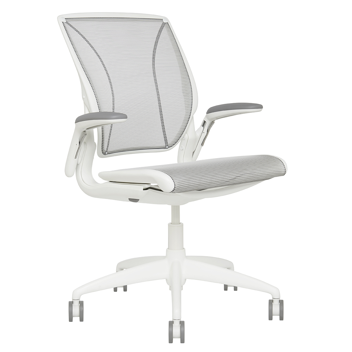 Diffrient Mesh Task Chair Back View
